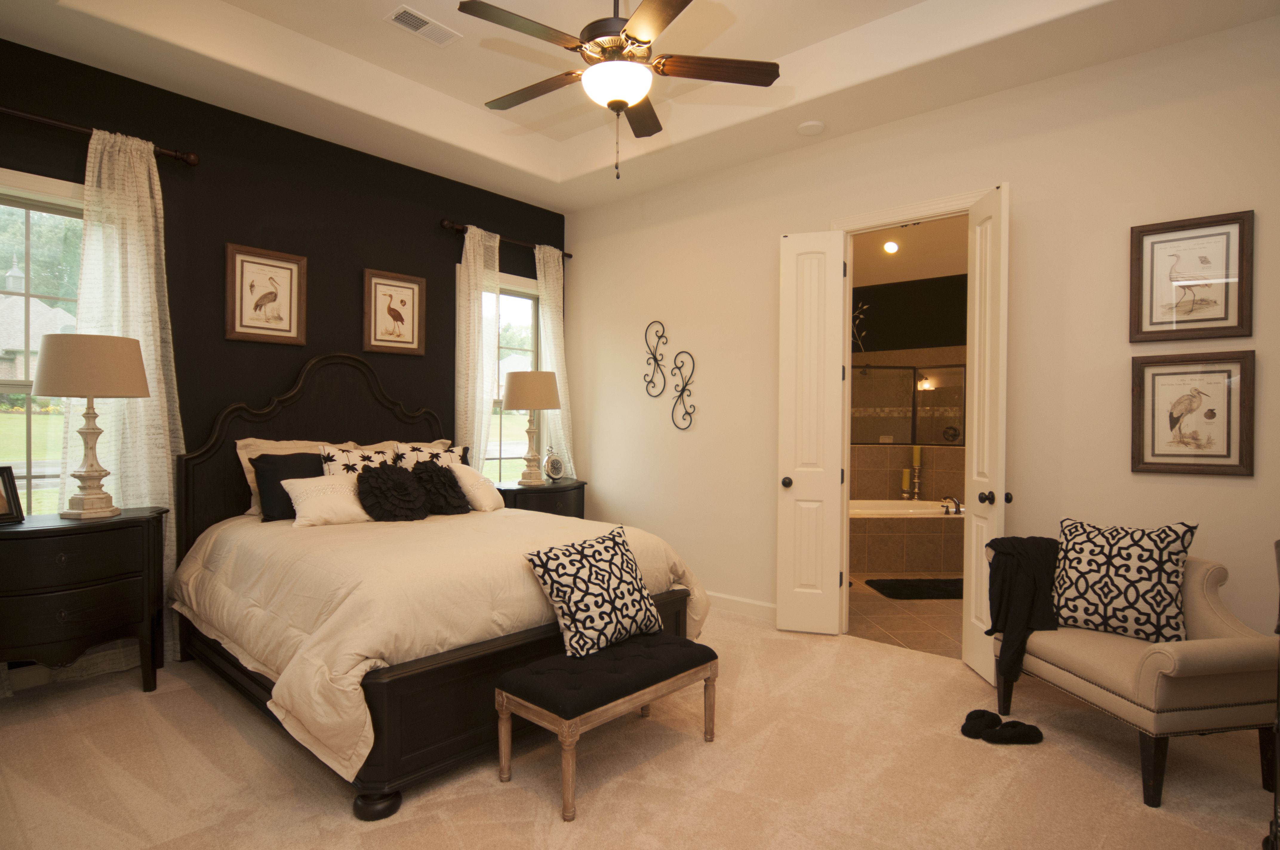 master bedroom with accent wall beautiful bedroom colors on show me beautiful wall color id=80382