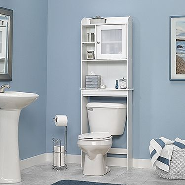 bathroom furniture space saving cabinet fits over toilet