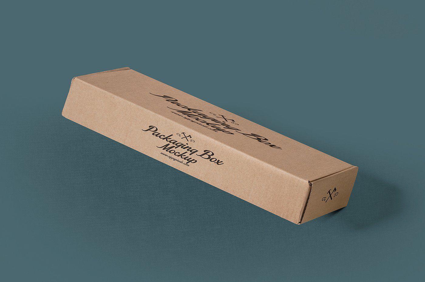 Download Rectangular Packaging Box Mockups Packaging Mockup Box Mockup Free Packaging Mockup