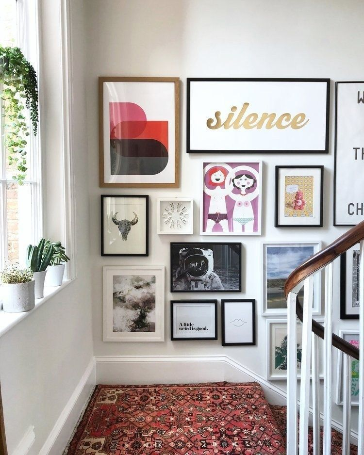 Fantastic gallery wall design for home decoration also displaying rh pinterest