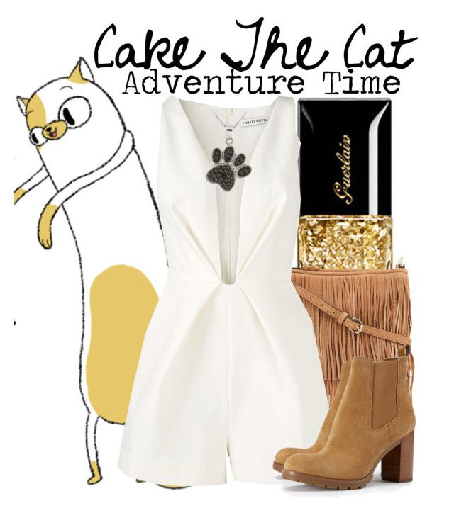 """""""Cake The Cat"""" by nerd-ville ❤ liked on Polyvore featuring Rebecca Minkoff, Finders Keepers, Tory Burch and DB Designs"""