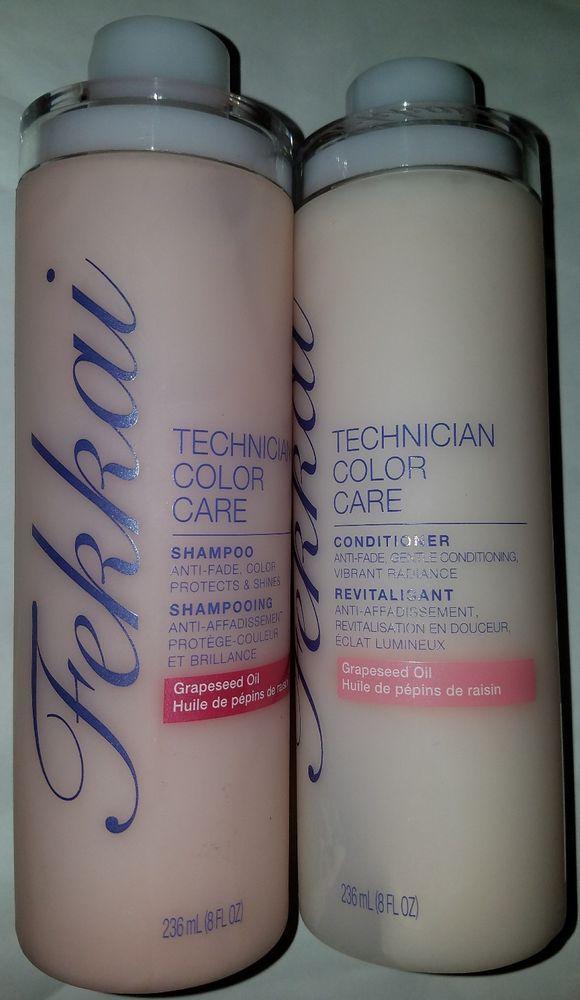 Frederic Fekkai Hair Technician Color Care Conditioner Shampoo Set