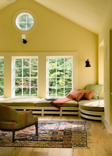 Amazing Low Window Seat Idea For Front Facing Windows Home Theyellowbook Wood Chair Design Ideas Theyellowbookinfo