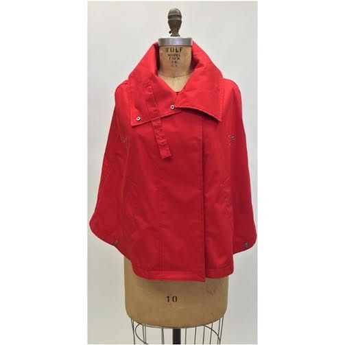 Burberry Red Cape (Size S)