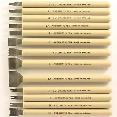Calligraphy automatic pens or the grandparents of Pilot
