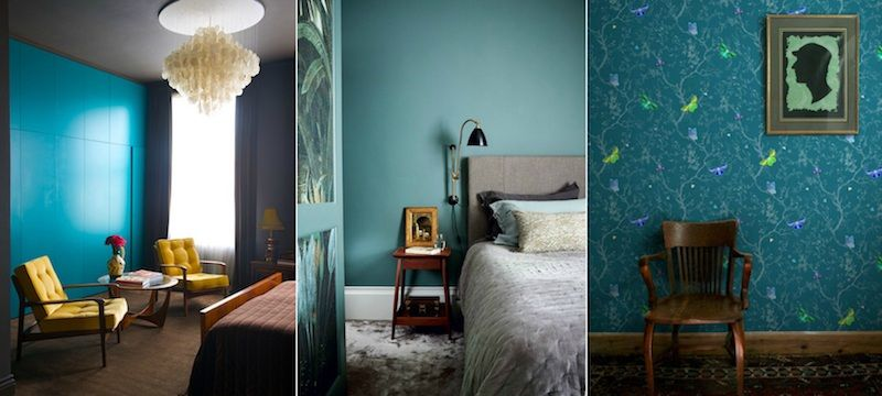 chambre bleu canard avec quelle couleur accords classe et id es d co associations vert. Black Bedroom Furniture Sets. Home Design Ideas