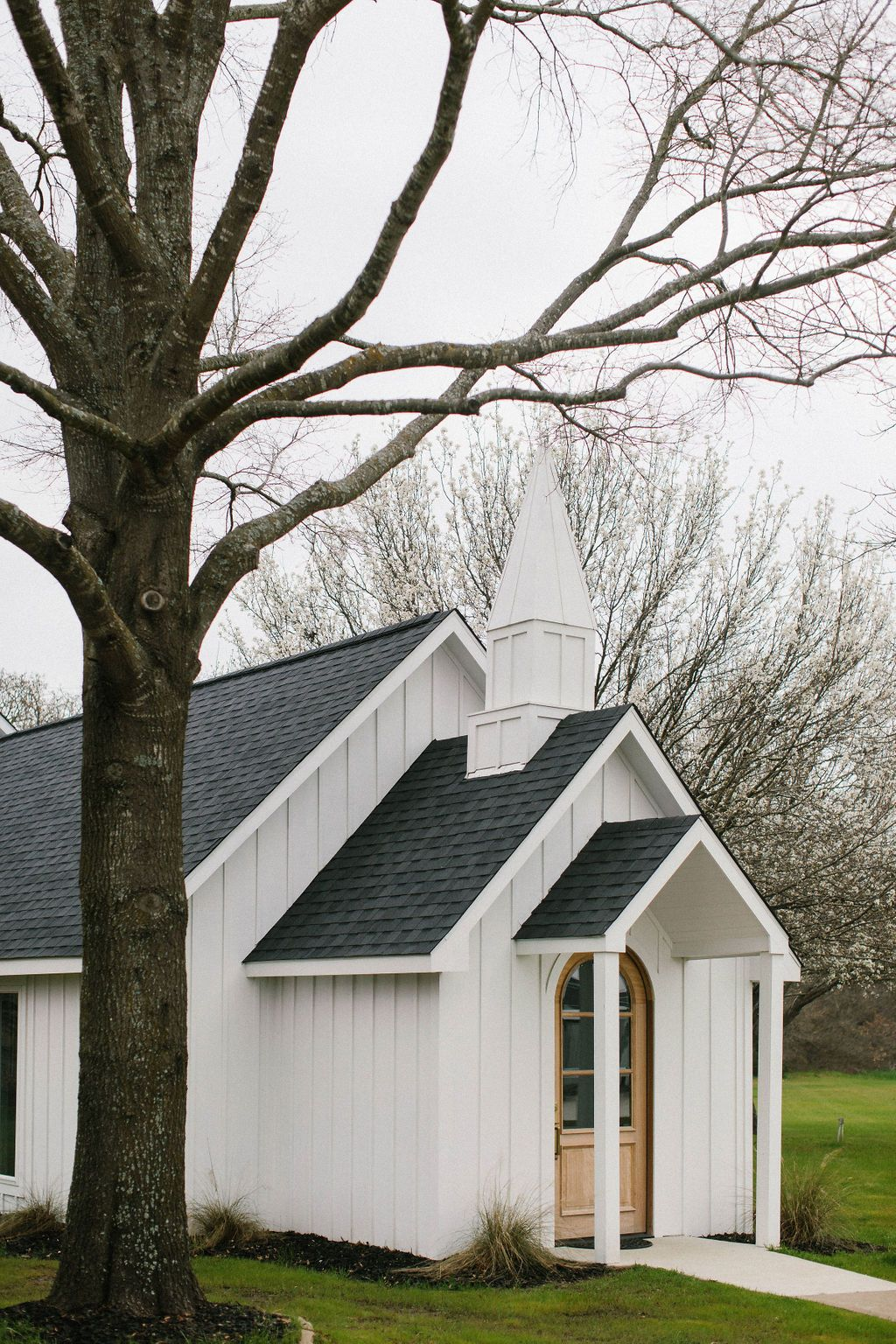 Leanne Ford Designed This White Wedding Chapel In North Texas