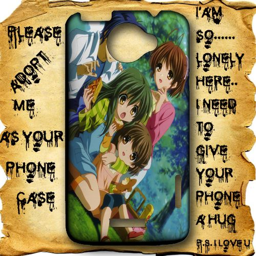 Clannad After Story Anime Manga gbr 1 HTC One X Case Full Wrap #HTCOne #HTCOneX #PhoneCase #HTCOneCase #HTCOneXCase