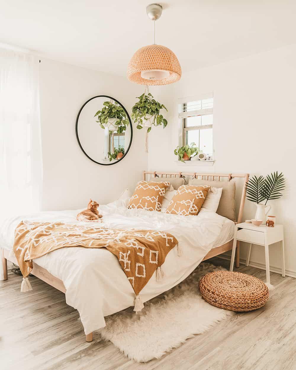 Ikea Bedroom Makeover For Under 600 Bedroom Decor Room Decor Bedroom Room Inspiration Bedroom