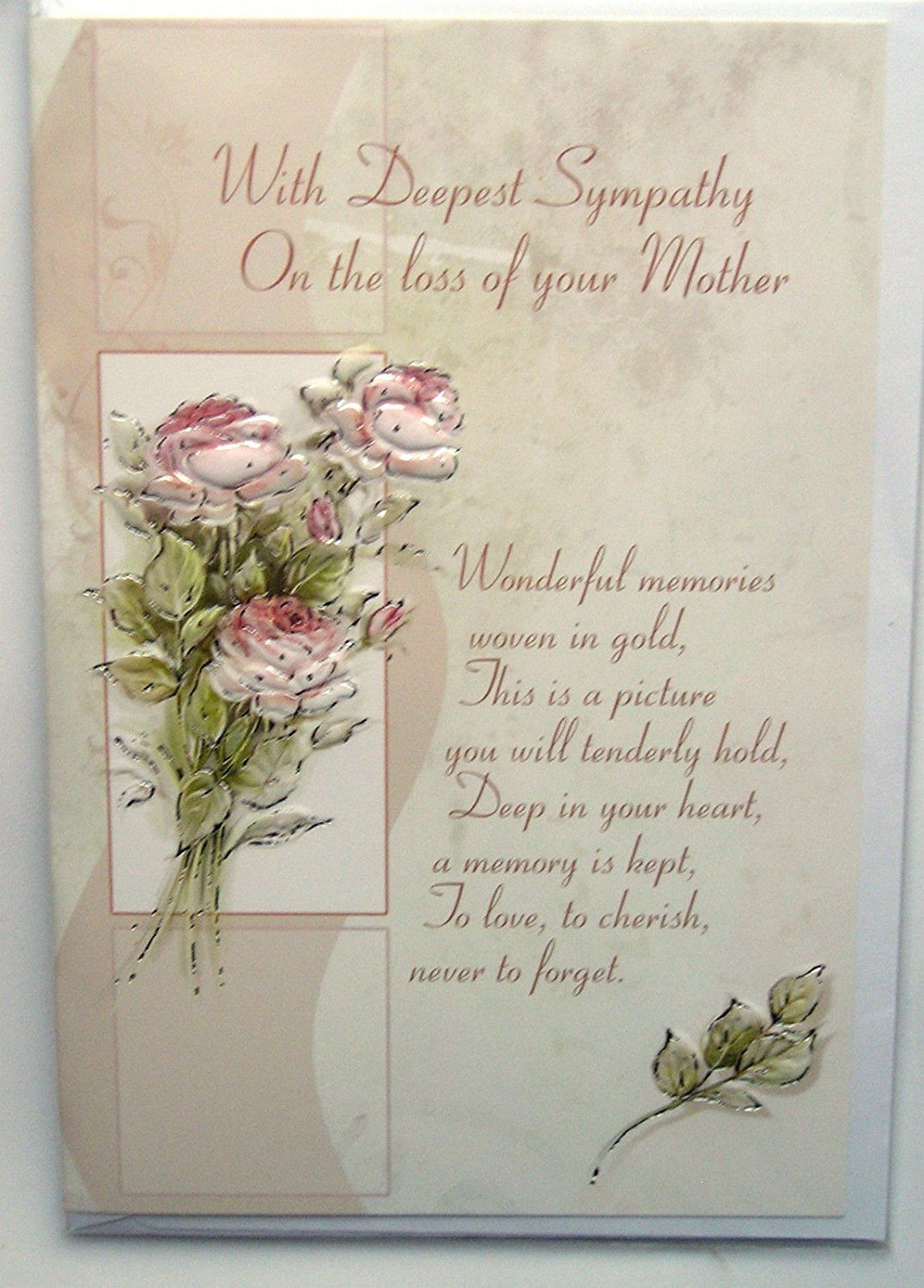 Image Result For Sympathy Cards For Loss Of Mother Birthday Cards