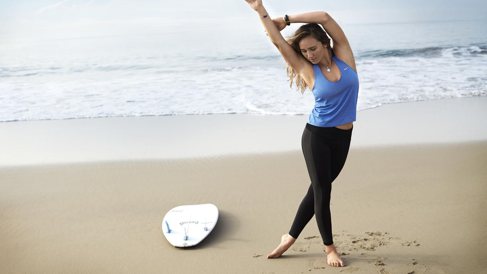 Nike News - Get on Board with Carissa Moore's N+TC Beach Balance Workout