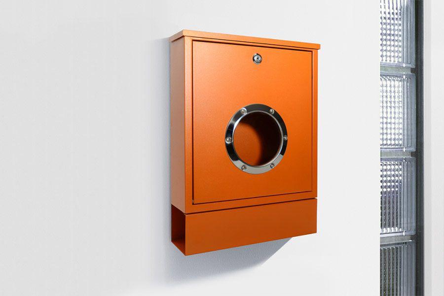 Briefkasten Mail in orange