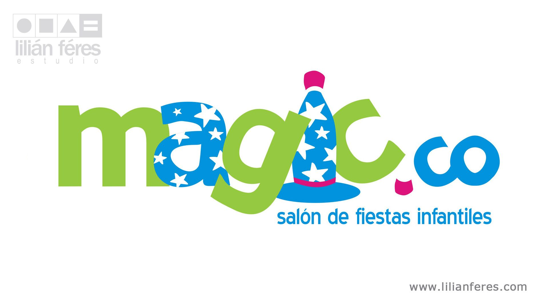 Dise o de logotipo para sal n de fiestas infantiles for Salones de diseno