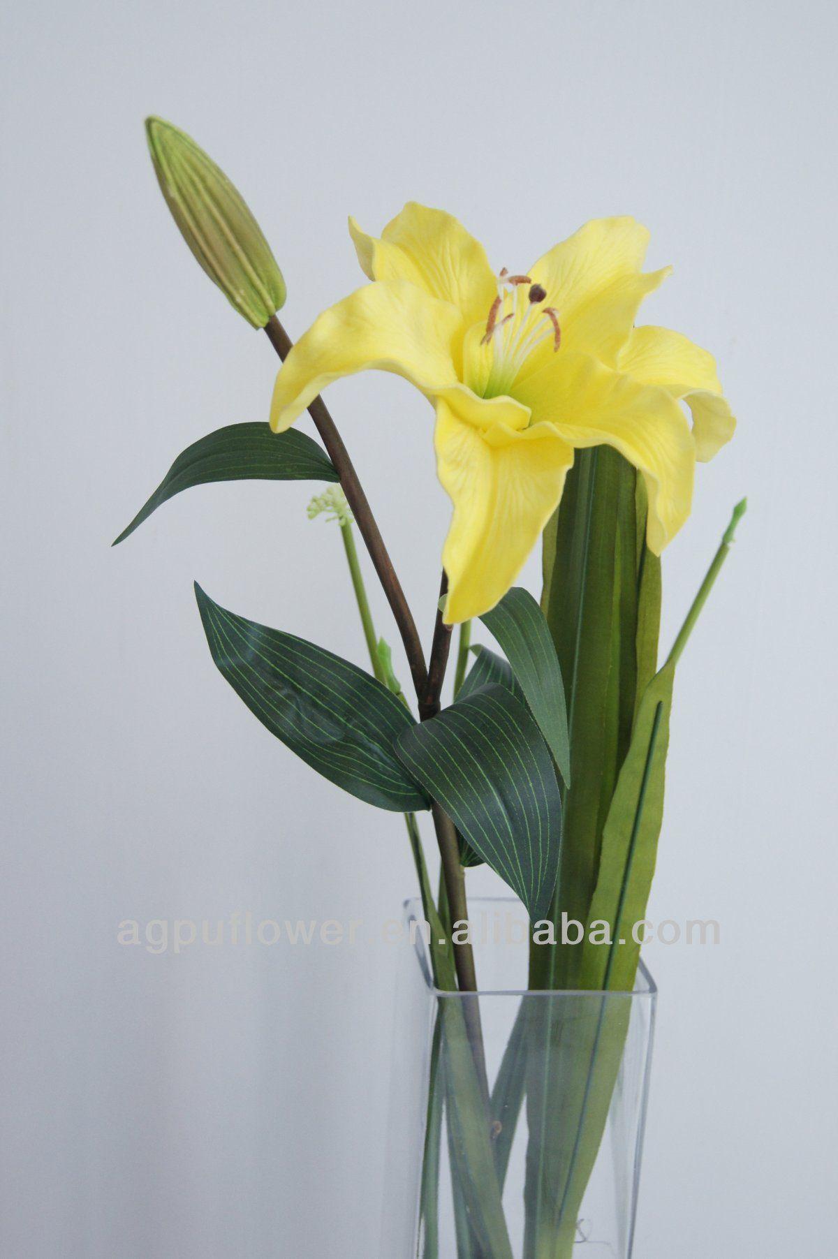 Decorative pu artificial tiger lily flower supplier china decorative pu artificial tiger lily flower supplier izmirmasajfo