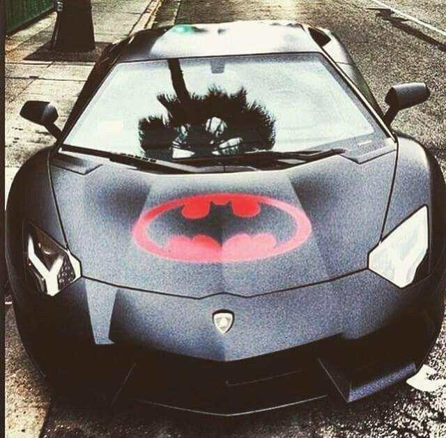 Cool Batman Lamborghini Aventador, Two Of My Favorite In Sport Cars Vs  Lamborghini Sports Cars Cars Cars