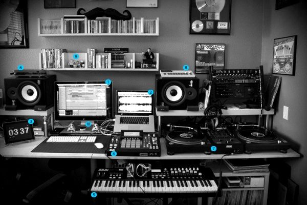 Producer Studio | Ideas for the House | Home recording