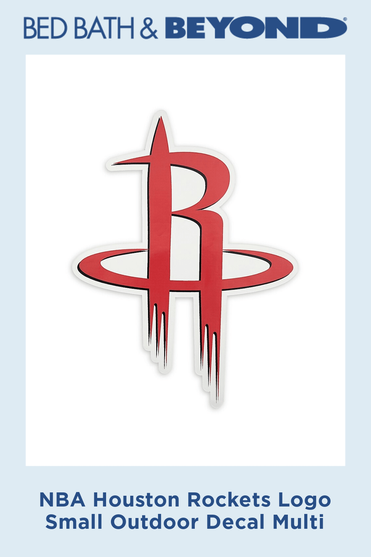 Nba Houston Rockets Logo Small Outdoor Decal Multi Houston Rockets Houston Rockets Nba Players Lebron James St Nba Houston Rockets Rockets Logo Houston Rockets