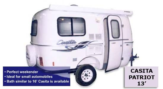 Small Camp Trailer Plans Casita small travel trailer RV 2011