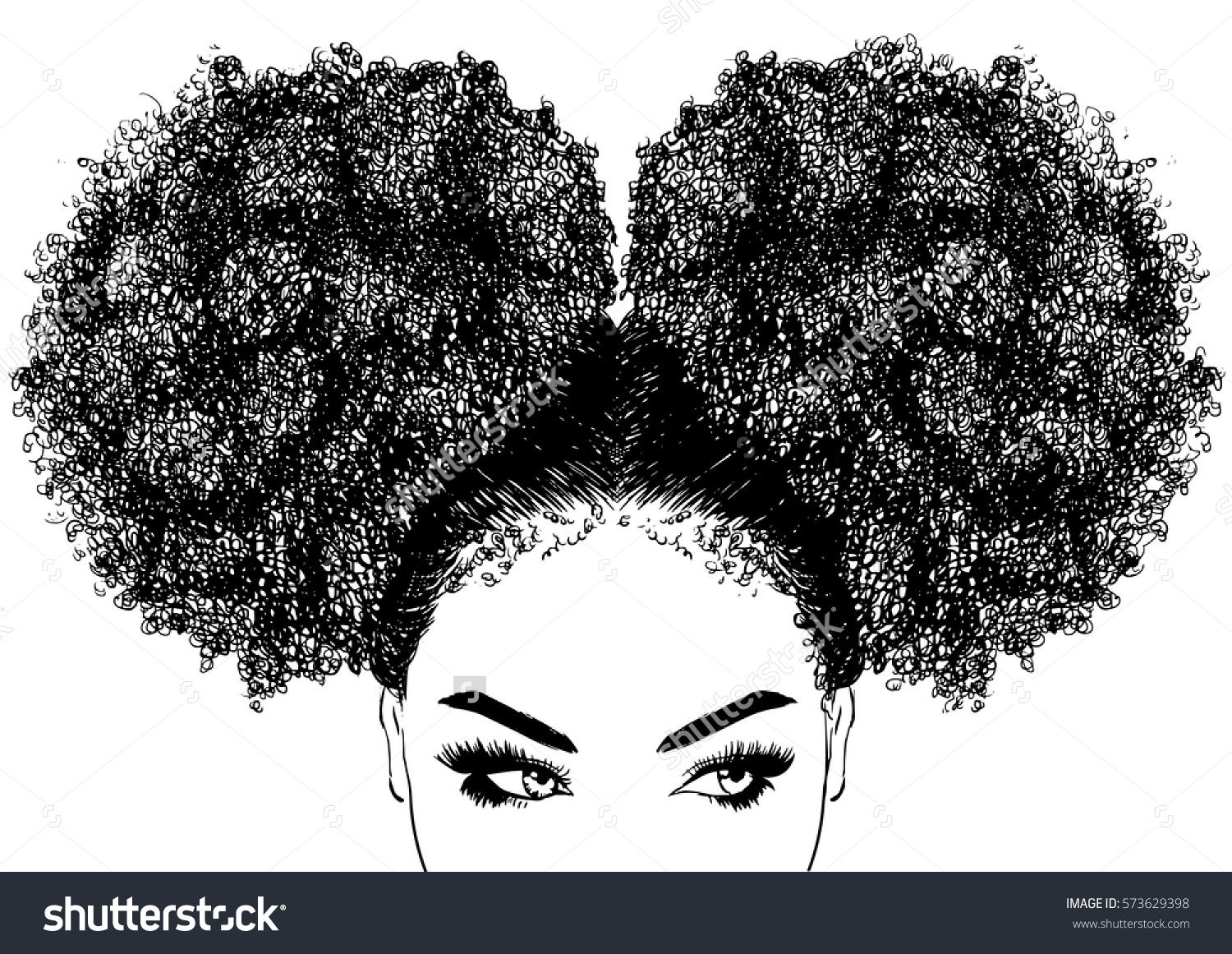 Reference Black Woman With Curly Hair With Images Afro Hair