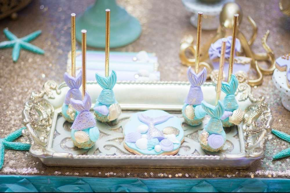 Under The Sea Baby Shower Party Ideas Sea Baby Shower Mermaid