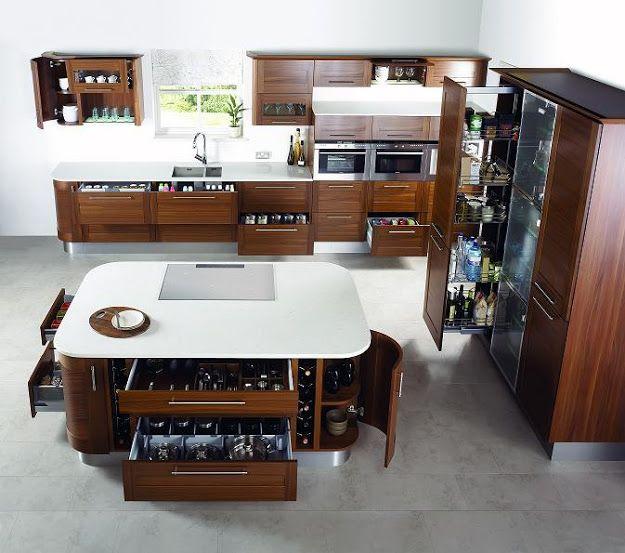 Modern konyhák, avagy minimalista dizájnból a maximumot ...