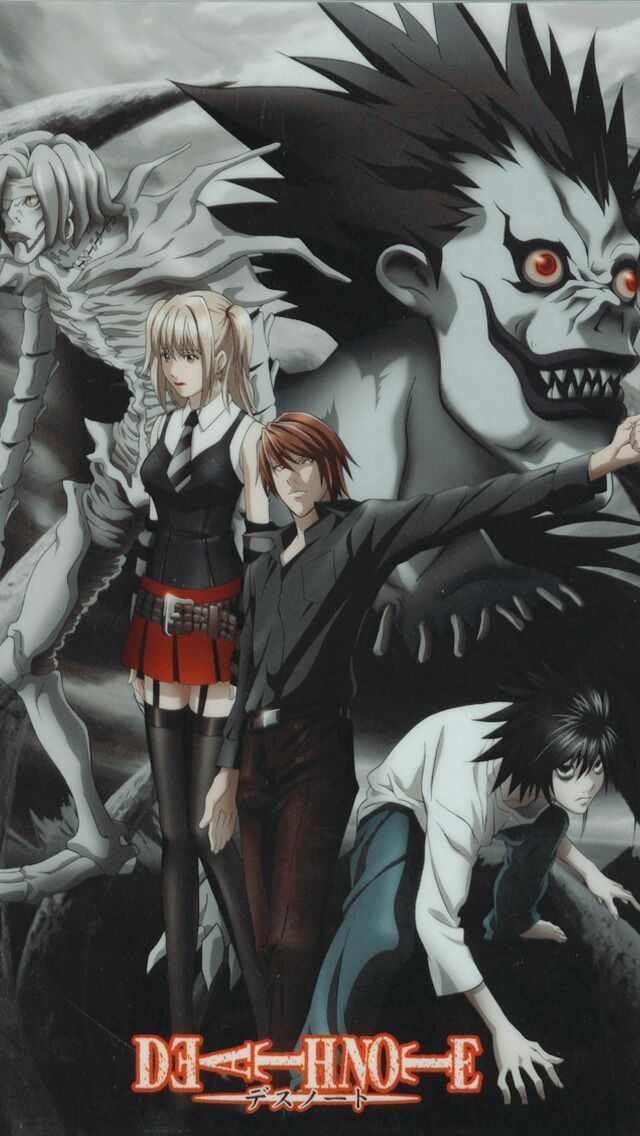 Fondos de Pantalla Anime сЃй(^o^ )^_^ )№ЙЅ  - Death Note
