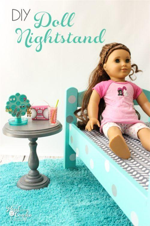 Simple DIY Doll Furniture