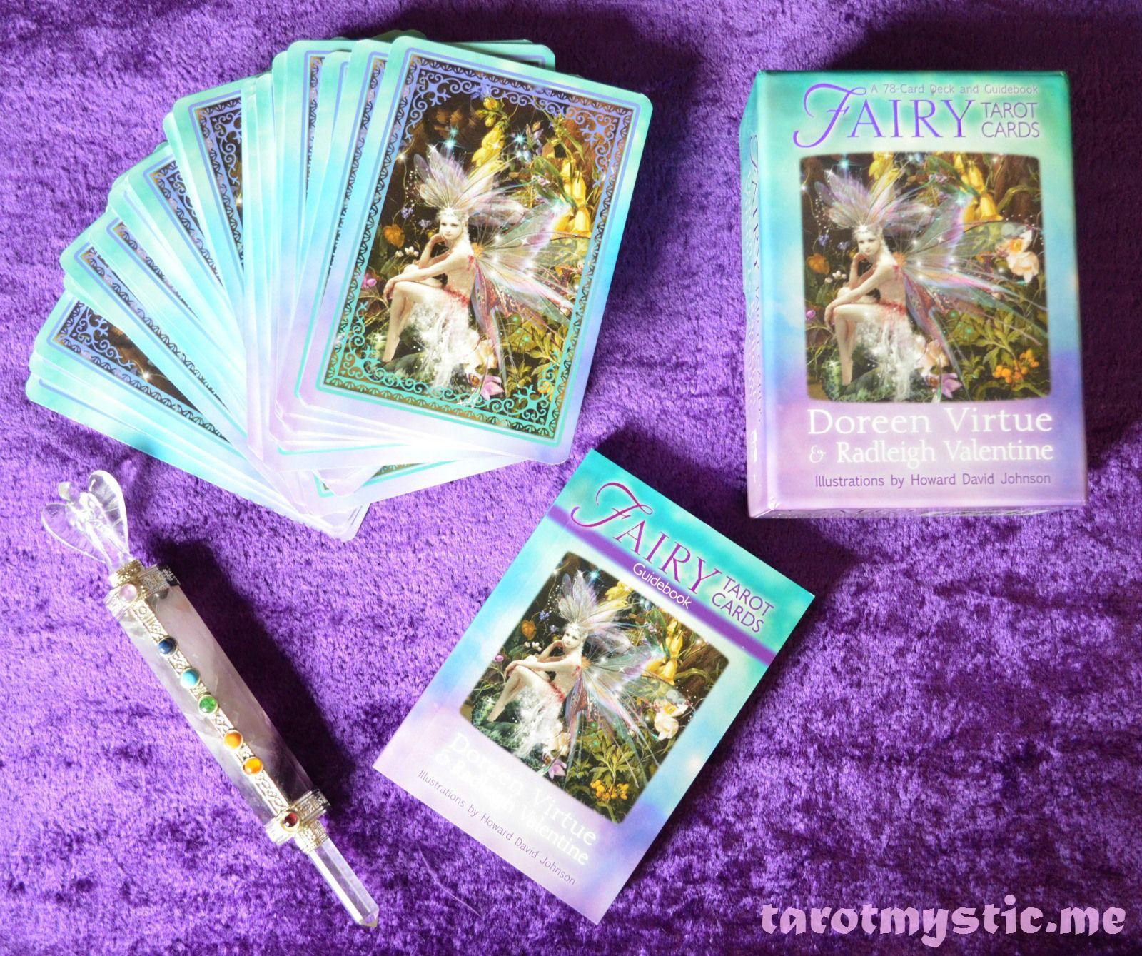 Fairy tarot cards tarot angel card reader tarot decks