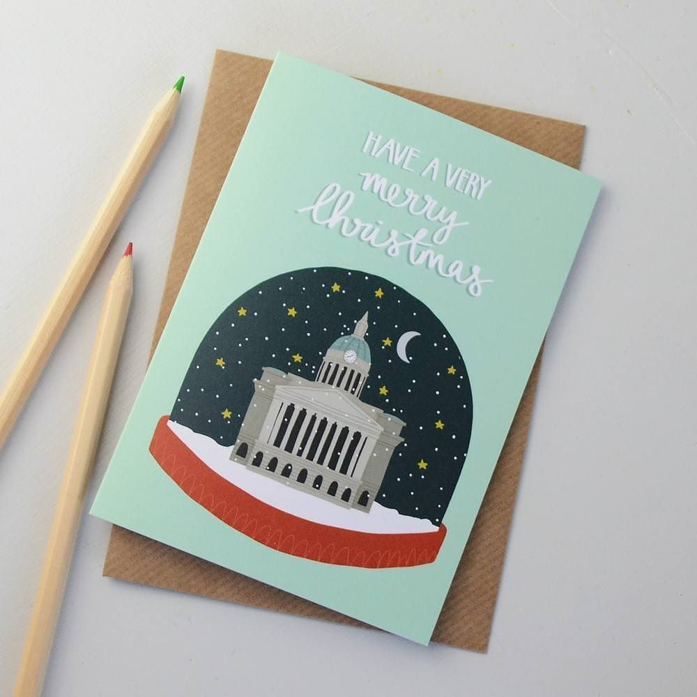 Wish Youd Picked Up That Christmas Card By Hannahstevensdesign At