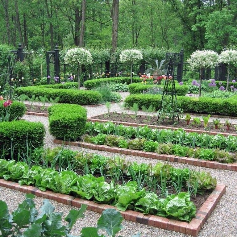 Design Ideas For Vegetable Gardens: 95+ Beautiful Modern English Country Garden Design Ideas