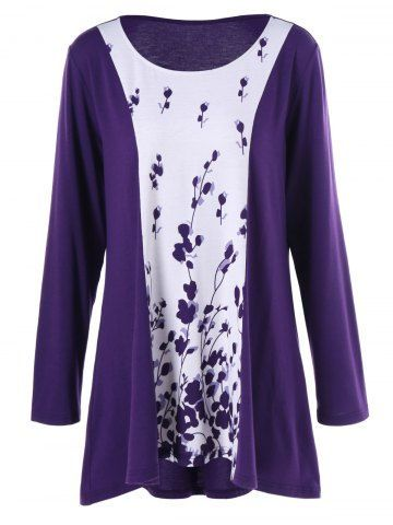 GET $50 NOW | Join RoseGal: Get YOUR $50 NOW!http://m.rosegal.com/plus-size-t-shirts/plus-size-plant-print-two-989590.html?seid=7869152rg989590