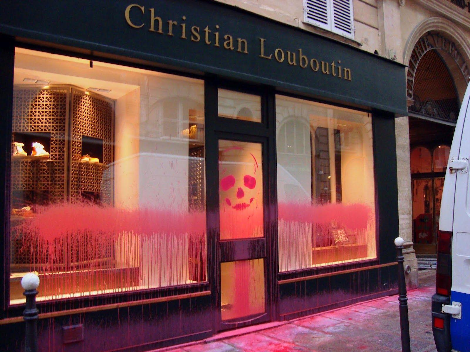 christian louboutin boutique paris france