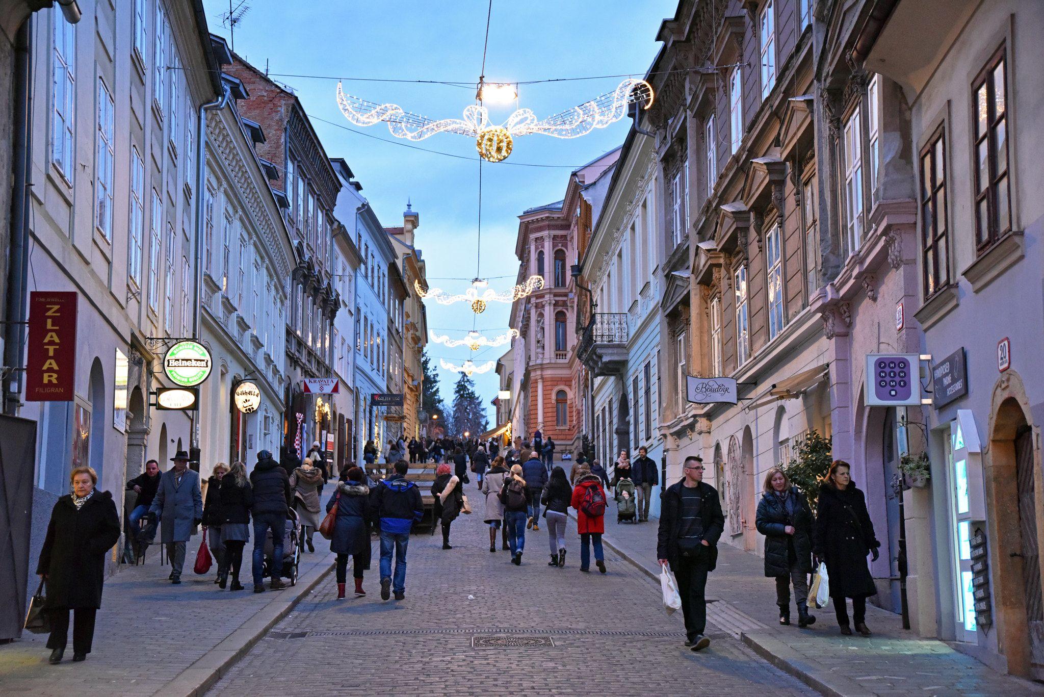 Radiceva Street Zagreb Croatia By Hrvojesasek Ernststrasser Kroatien Croatia Kroatien