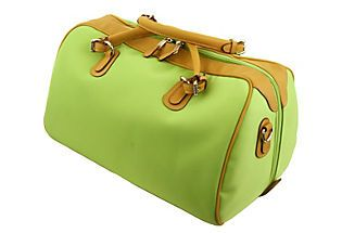Sm. Hippo Duffel, Lime this was featured on www.onekindslane.com for only $159. How cute!