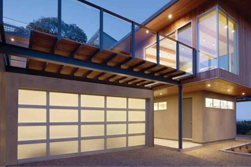 Perfect Aluminum Garage Doors | Model 521 | Modern Aluminum Collection | Learn More  At Overheaddoor.