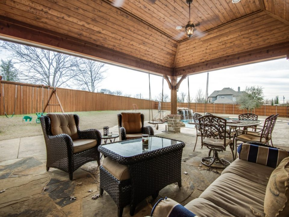Complete Renovation in Frisco TX - Porch | Patio, Outdoor ... on Complete Outdoor Living id=71941