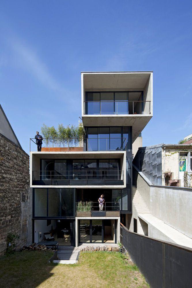 Maison Monténégro à Paris (75) Architecture and Facades