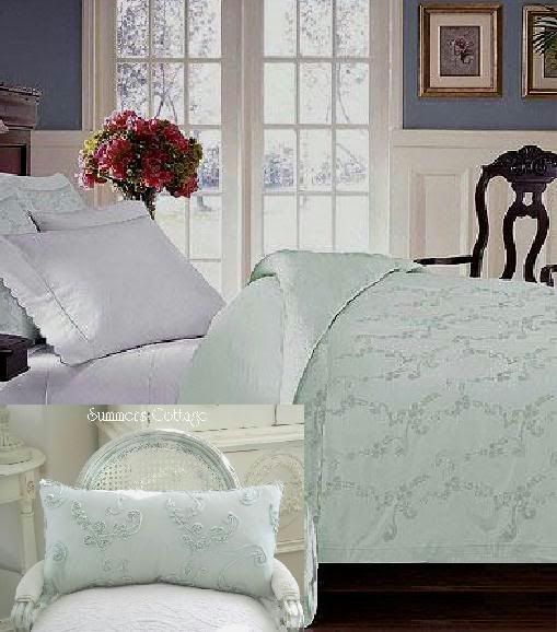 French Bella White Ruffles King Comforter With Ruffled King Pillow Shams Mint Green Bedroom Redecorate Bedroom Shabby Chic Bedding