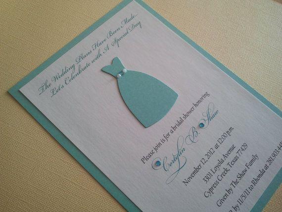 Tiffany Bridal Shower Invitations