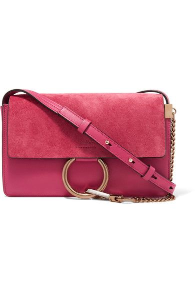b6f834f51390 Pink leather and suede (Calf) Snap-fastening front flap Designer color   Dreamy Pink Weighs approximately 1.8lbs  0.8kg Made in Spain