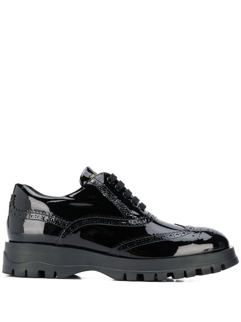 PRADA-shoes-PRADA BROGUE SHOES - BLACK