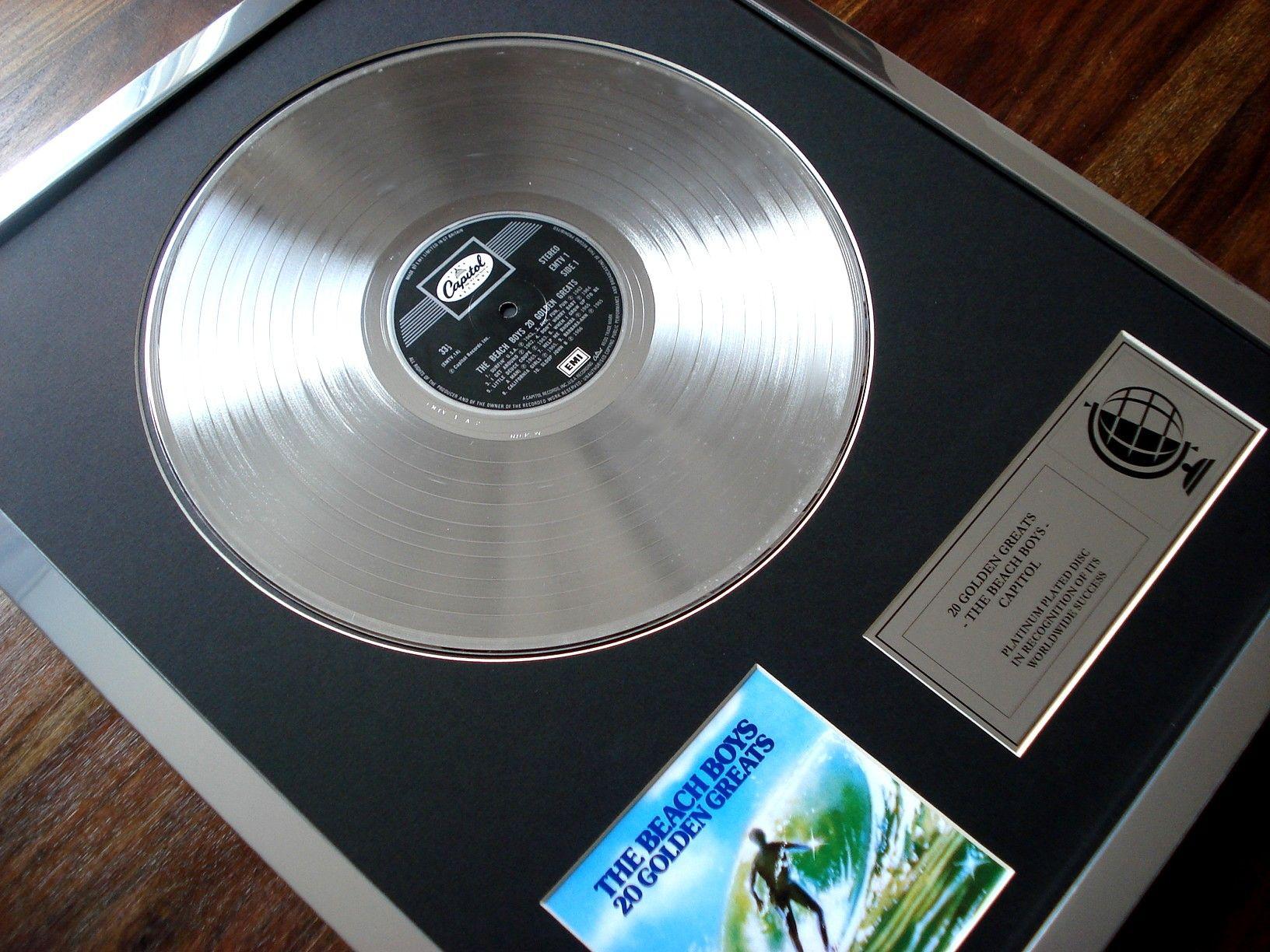 Image Result For Platinum Record Frame Framed Records Records Platinum