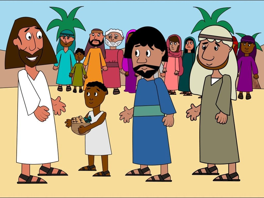 One Of The Disciples Called Andrew Brought A Little Boy To Jesus Who