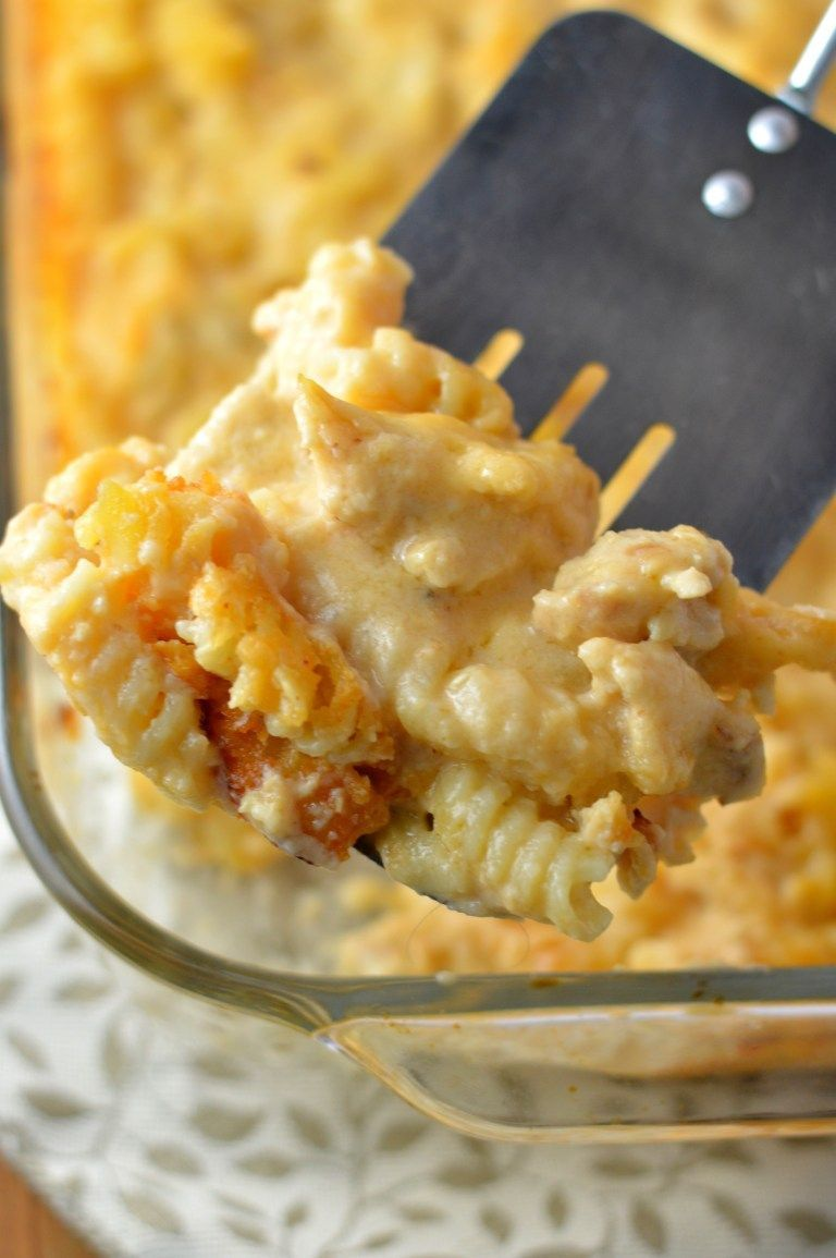 Photo of Baked Cheesy Chicken Pasta   A Taste of Madness – #Baked #Cheesy #Chicken #chine…