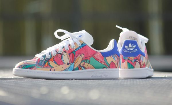Adidas Stan Smith W Multicolor 'Rio's bananas' Light Blue