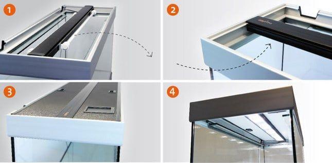 LED lichtbalk: De LED lichtbalk kan heel gemakkelijk gemonteerd ...