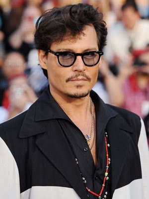 91ba16e4eef Davis Vision - Johnny Depp picks tinted lenses.  eyeglasses