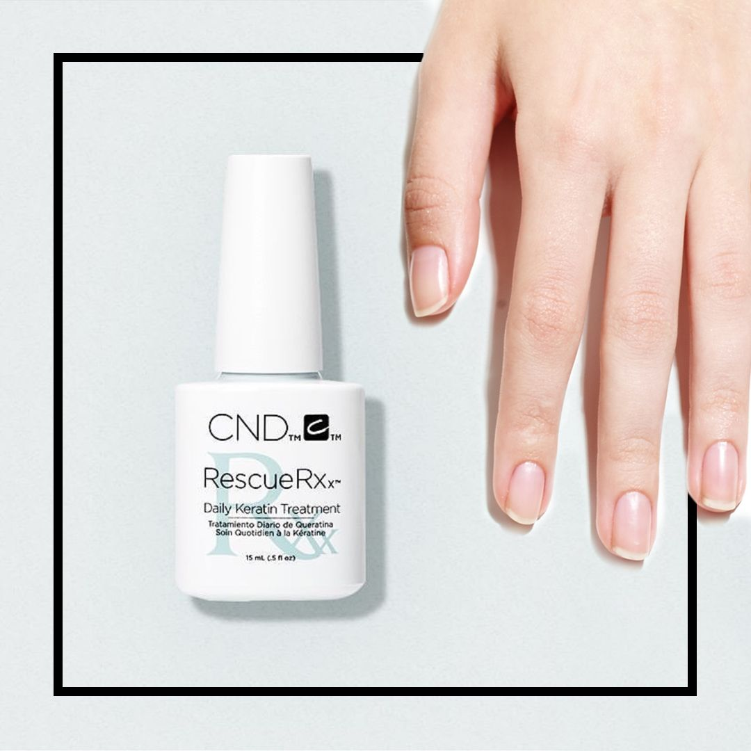 CND™ RESCUERXX™ Daily Keratin Treatment will save your nails this ...