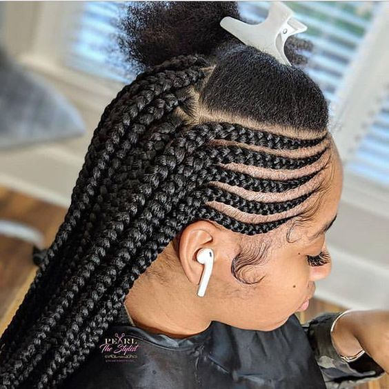 cornrows braided hairstyles 2019:100 Best Black Braided Hairstyles You should Try | Correct Kid #blackbraidedhairstyles