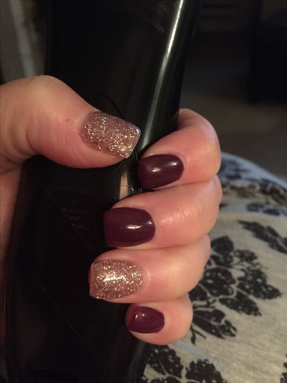 Love My Nails Are You Looking For Short Square Acrylic Nail Colors Design For This Autumn Short Square Acrylic Nails Square Acrylic Nails Fall Acrylic Nails